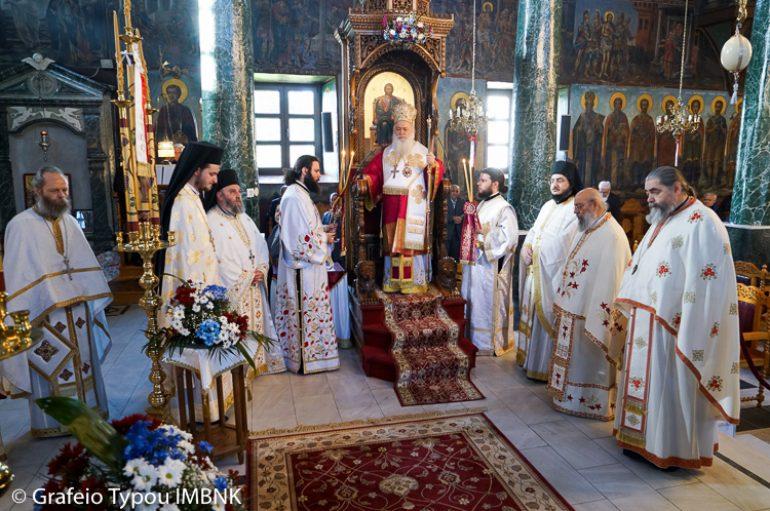Η εορτή των Αγίων Πέντε Ιερομαρτύρων στη Νάουσα (ΦΩΤΟ)