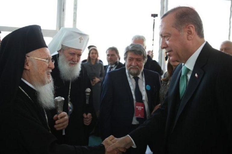 Συνάντηση Οικ. Πατριάρχη με Ερντογάν σήμερα στην Άγκυρα