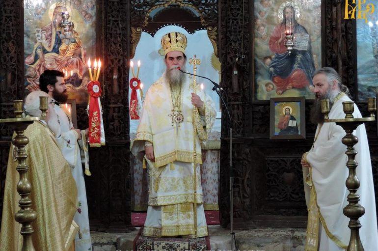 Λαμπρός εορτασμός των Αγίων Θεοχάρους και Αποστόλου στην Άρτα