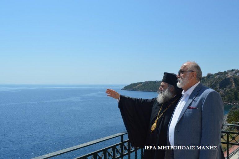 Επίσκεψη του Υπουργού Ναυτιλίας στη Μητρόπολη Μάνης (ΦΩΤΟ)