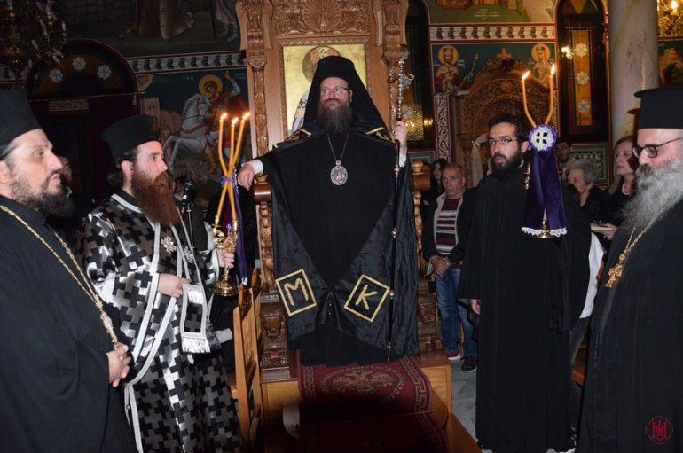 Όρθρος της Μ. Τρίτης στον Ι. Ναό Κοιμήσεως Θεοτόκου – Αιαντείου Σαλαμίνος