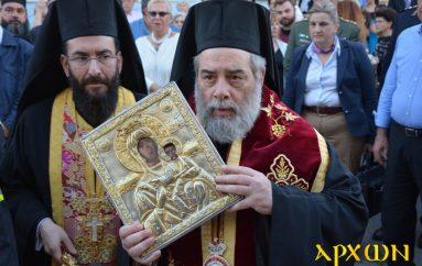 Η Καλαμάτα υποδέχθηκε την Παναγία Βουλκανιώτισσα (ΦΩΤΟ)