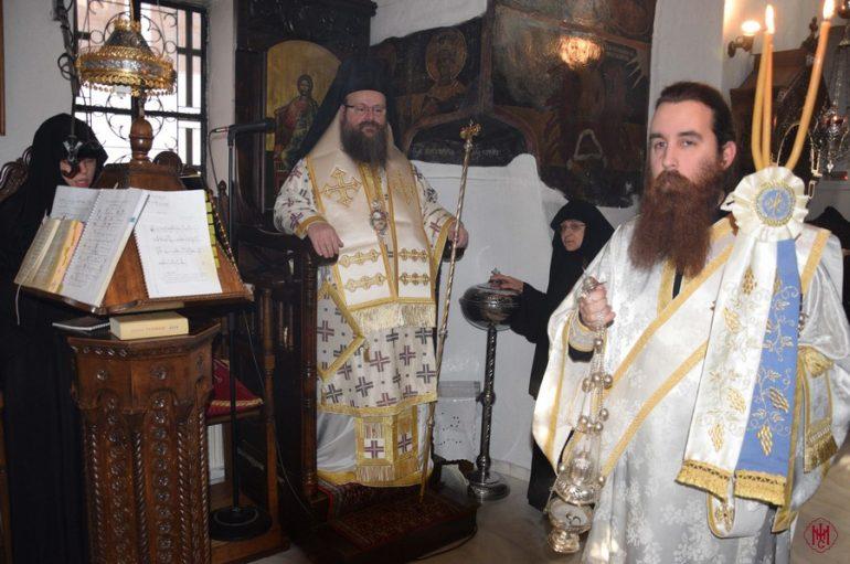 Η Θ. Λειτουργία της Μ. Πέμπτης στην Ι. Μονή Αγίου Ιεροθέου Μεγάρων