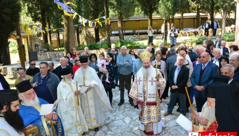 Με λαμπρότητα εορτάστηκε ο Αγιος Γεώργιος στην Κεφαλλονιά (ΦΩΤΟ)