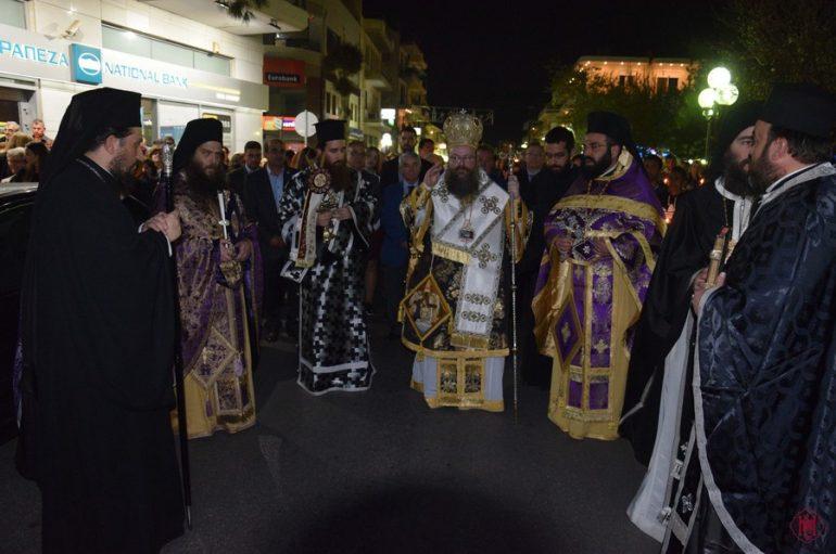 Μεγάλη Παρασκευή στην Ιερά Μητρόπολη Μεγάρων (ΦΩΤΟ)
