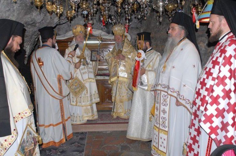 Πανηγύρισε η Ιερά Μονή Οσίου Παταπίου στο Λουτράκι (ΦΩΤΟ)