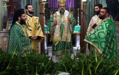 Κυριακή των Βαΐων στην Ι. Μητρόπολη Μεσσηνίας (ΦΩΤΟ)