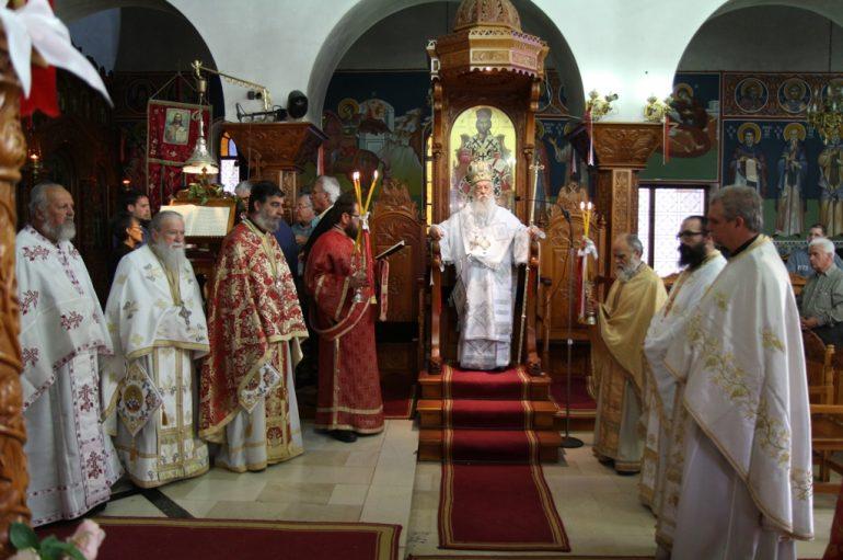 Η Μητρόπολη Παραμυθίας εόρτασε τον Πολιούχο της (ΦΩΤΟ)