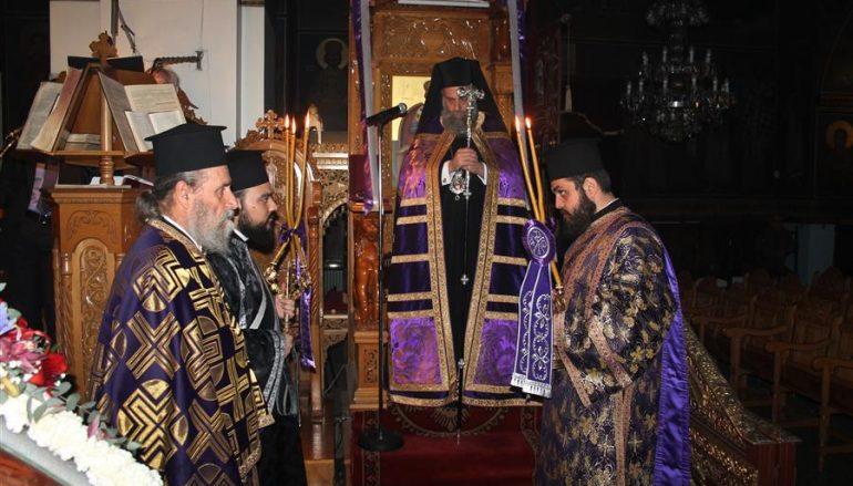 Η Ακολουθία του Νυμφίου στην Ι. Μ. Θεσσαλιώτιδος (ΦΩΤΟ)