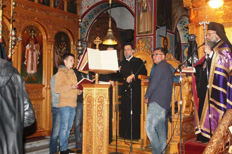 Η ακολουθία του Νυμφίου στον Ι. Ναό Αγίου Δημητρίου Καρδίτσης