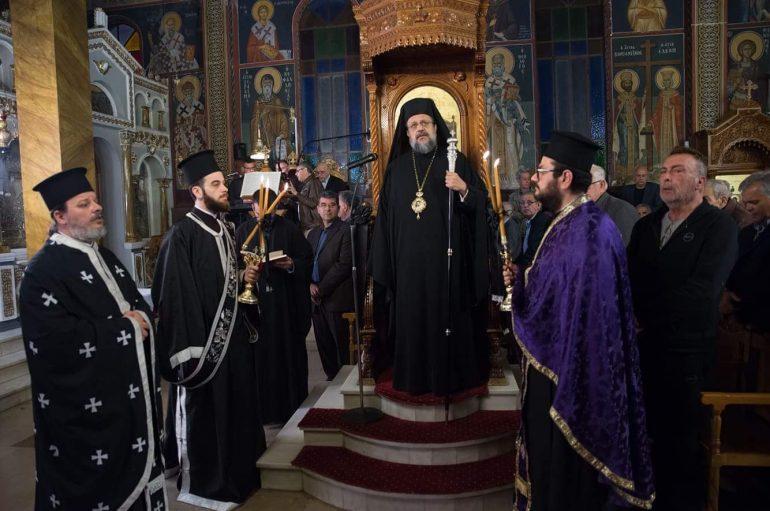 Μεγάλη Τρίτη στην Ιερά Μητρόπολη Μεσσηνίας (ΦΩΤΟ)