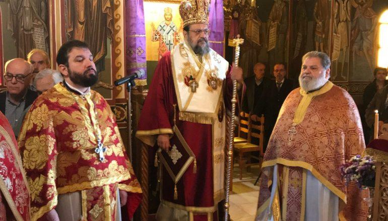 Ο Μητροπολίτης Μεσσηνίας στην Ι. Μονή Προφήτου Ιωήλ (ΦΩΤΟ)