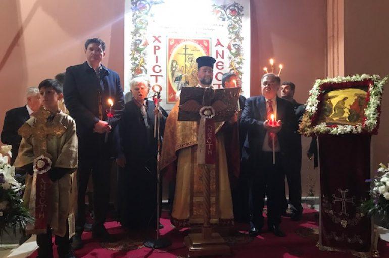 Ανάσταση στον Ιερό Ναό Αγίου Σπυρίδωνος Πύργου (ΦΩΤΟ)