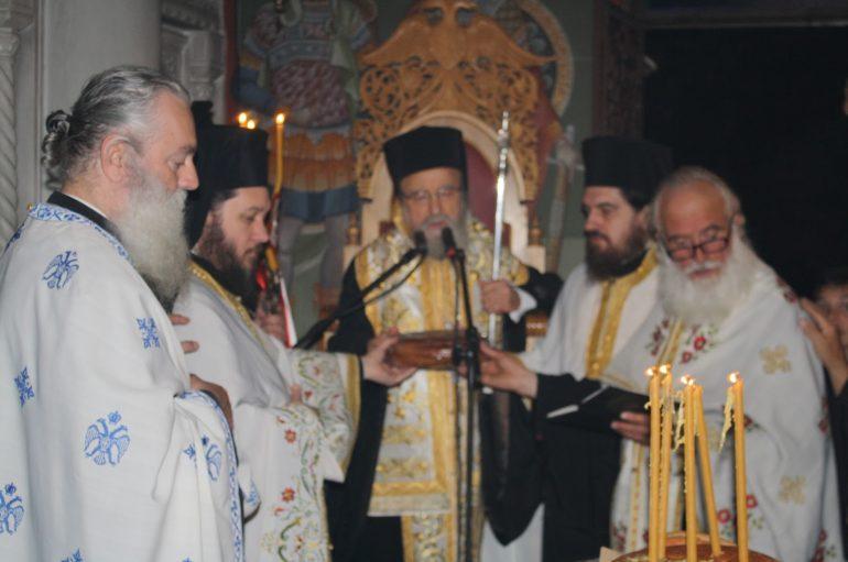 Εσπερινός στην Ιερά Μονή Παναγίας Ελεούσης Κλεισούρας Μεσολογγίου