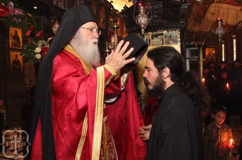 Και ο δεύτερος ανεψιός του Γέροντα Νεκταρίου Μουλατσιώτη έγινε μοναχός
