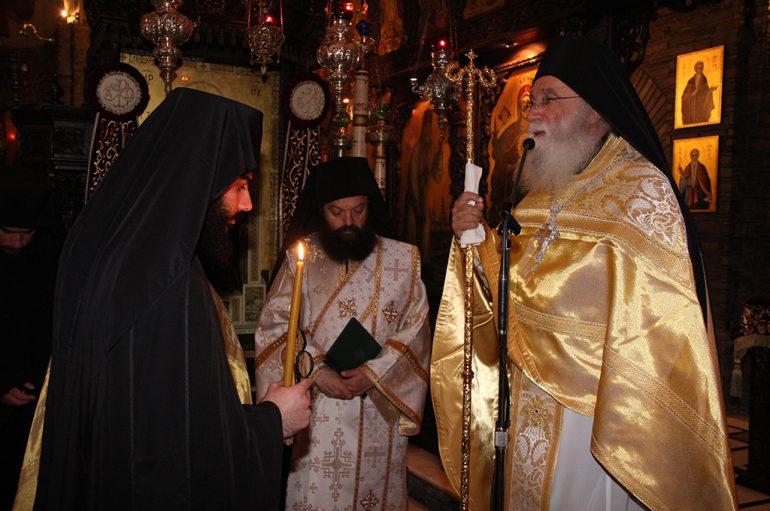 Κουρά Μοναχού στην Ι. Μονή Αγίου Αυγουστίνου Ιππώνος (ΦΩΤΟ)