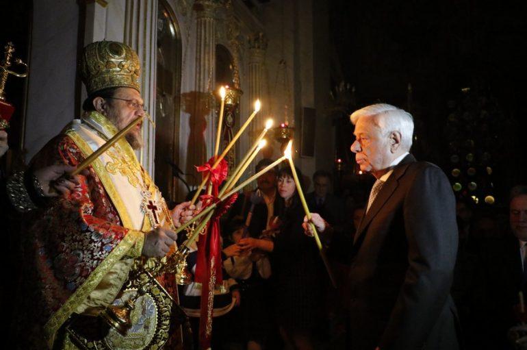 Ανάσταση στην Καλαμάτα παρουσία του Προέδρου της Δημοκρατίας (ΦΩΤΟ)