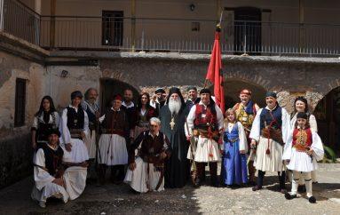 Εορτασμός της Τρίτης της Διακαινησίμου στην Ιερά Μονή Ομπλού (ΦΩΤΟ)