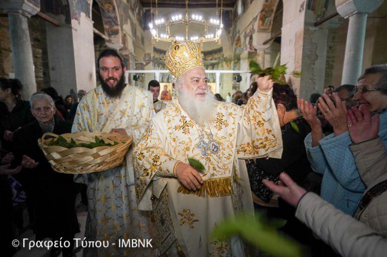 Η Πρώτη Ανάσταση στην Ι. Μητρόπολη Βεροίας (ΦΩΤΟ – ΒΙΝΤΕΟ)