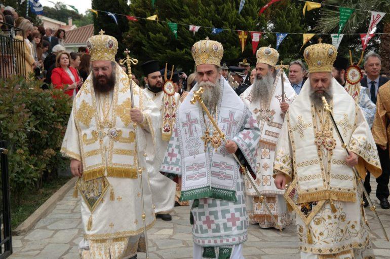 Λαμπρός ο εορτασμός των Οσίων Μετεωριτών στην Καλαμπάκα (ΦΩΤΟ)