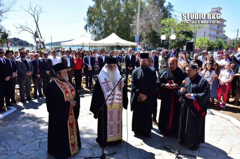 Επιμνημόσυνη δέηση για τους Ήρωες Πεσόντες Κρήτες στο Τολό (ΦΩΤΟ)
