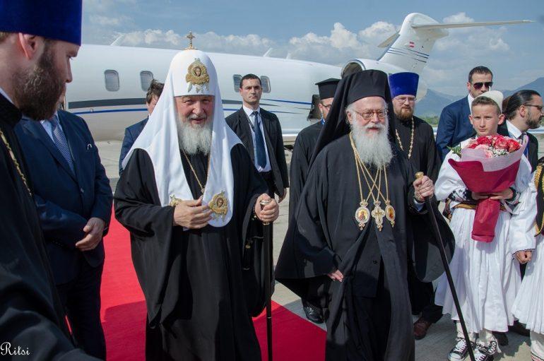 Τον Πατριάρχη Μόσχας υποδέχθηκε η Αλβανία (ΦΩΤΟ)