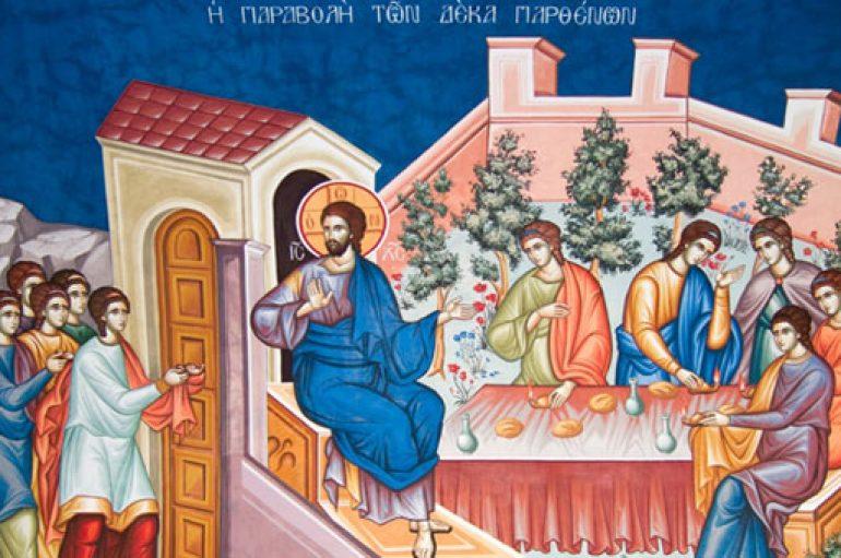 «Η έλευση του Νυμφίου» του θεολόγου Παντελεήμονα Λεβάκου