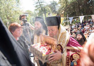 Η χείρα της Αγ. Μαρίας Μαγδαληνής στον ομώνυμο Ναό στη Χαλέπα (ΦΩΤΟ)