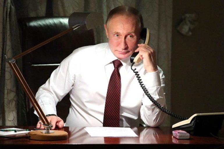 Με τον Οικουμενικό Πατριάρχη επικοινώνησε ο Βλ. Πούτιν