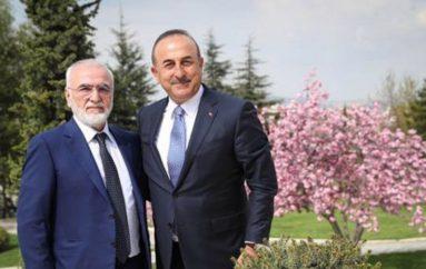 Ο Ιβάν Σαββίδης συναντήθηκε με τον Υπουργό Εξωτερικών της Τουρκίας