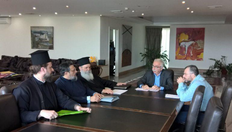 Συνάντηση Γαβρόγλου με εκπροσώπους της Δ.Ι.Σ
