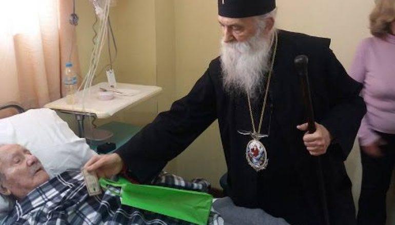 Επίσκεψη του Μητροπολίτη Γλυφάδας στο Νοσοκομείο Ασκληπιείο Βούλας