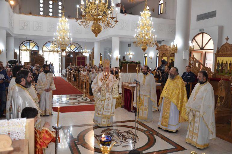 Αναχώρησε η Ιερά Εικόνα της Παναγίας «Βουρλιωτίσσης» από την Κύπρο