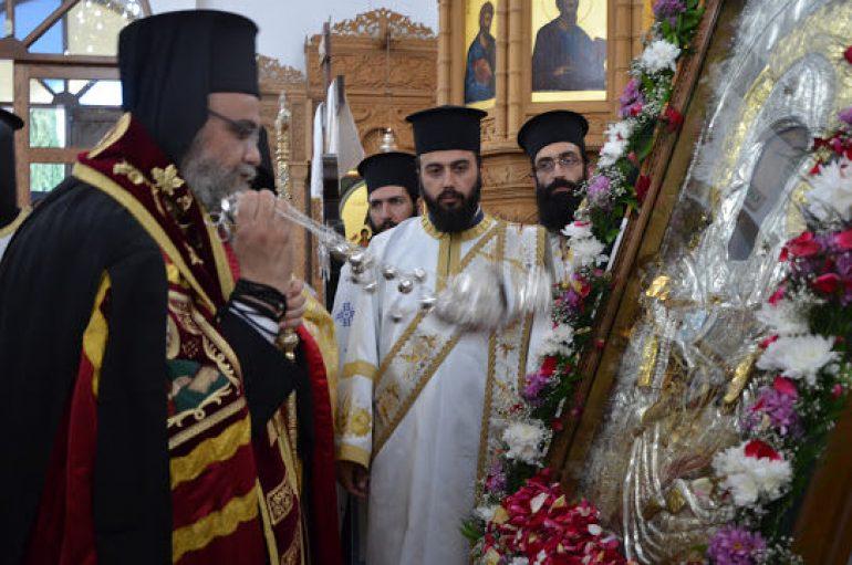 Η Κύπρος υποδέχθηκε την Εικόνα της Παναγίας «Βουρλιωτίσσης» (ΦΩΤΟ)