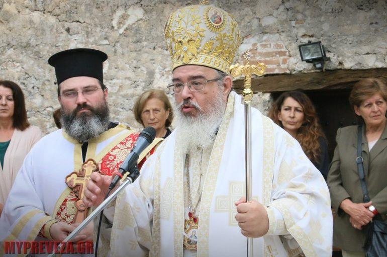 Η εορτή της Αγίας Πελαγίας στην Ι. Μητρόπολη Πρεβέζης (ΦΩΤΟ)