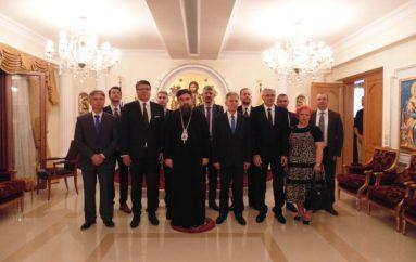 Ο Δήμαρχος της Σερβικής πόλης Νις στον Μητροπολίτη Σερρών (ΦΩΤΟ)