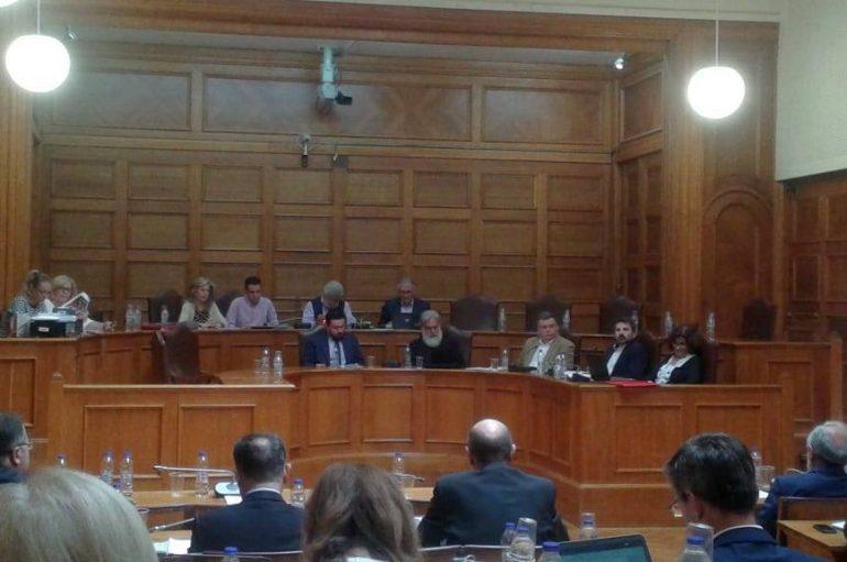Στην Επιτροπή Μορφωτικών Υποθέσεων της Βουλής ο Μητροπολίτης Ιλίου