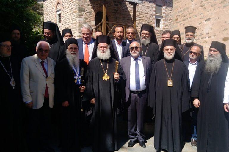 Ο Πατριάρχης Αλεξανδρείας επισκέφθηκε το Άγιον Όρος (ΦΩΤΟ)