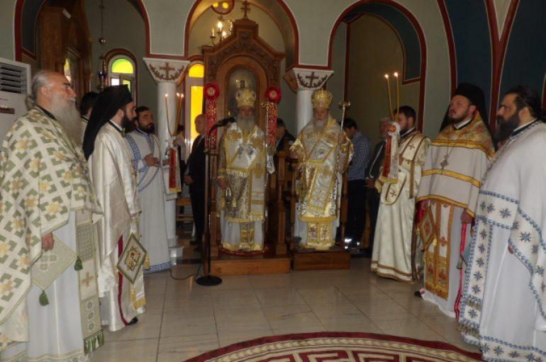 Ο εορτασμός της Αγίας Φωτεινής στην Ι. Μητρόπολη Κορίνθου (ΦΩΤΟ)
