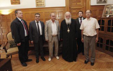 Συναντήσεις του Αρχιεπισκόπου Ιερωνύμου (ΦΩΤΟ)