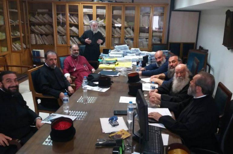 Συνεδρίαση Δ.Σ. – Ι.Σ.Κ.Ε. και συνάντηση με Γεν. Γραμματέα Θρησκευμάτων