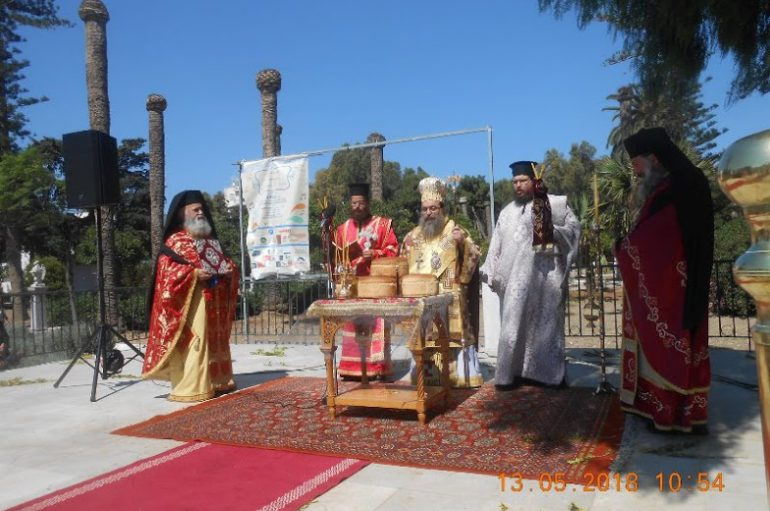 Η Χίος τίμησε τον Πρωτομάρτυρα Άγιο Ισίδωρο (ΦΩΤΟ)