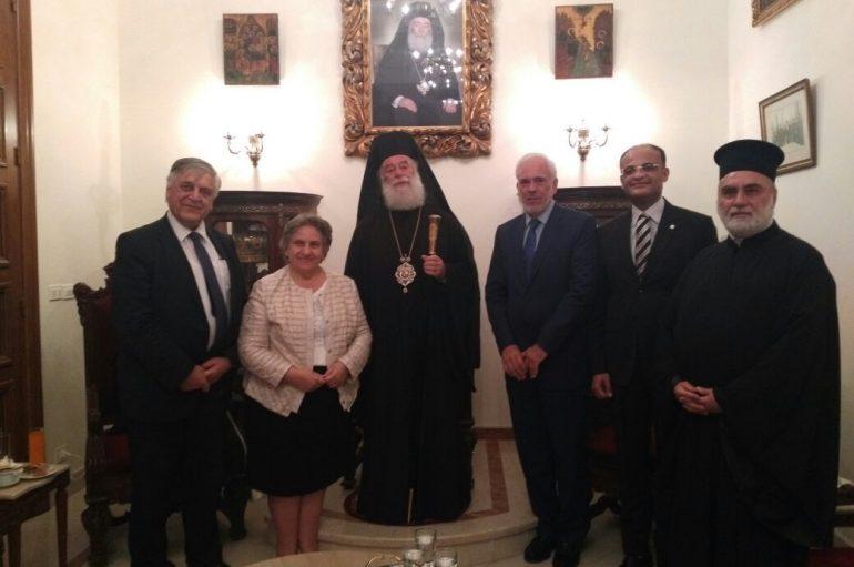 Εισαγγελείς του Αρείου Πάγου υποδέχθηκε ο Πατριάρχης Αλεξανδρείας