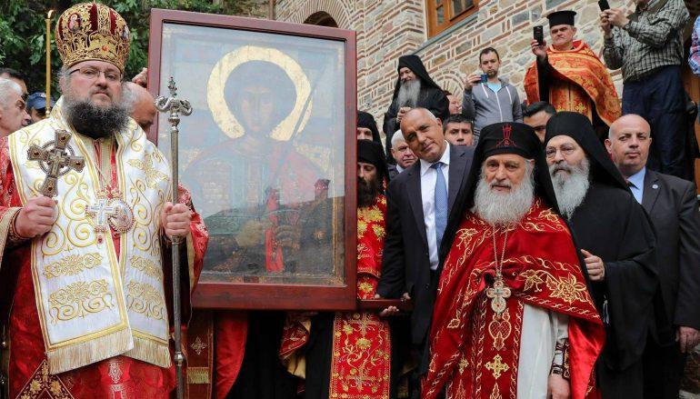 Ο Πρωθυπουργός της Βουλγαρίας στην Πανήγυρη της Ι. Μονής Ζωγράφου