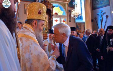 Παρουσία του ΠτΔ ο εορτασμός του Αγίου Πνεύματος στην Κυπαρισσία (ΦΩΤΟ)
