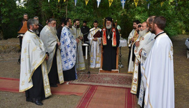 Αρχιερατικός Εσπερινός του Αγ. Θεοφάνους Επισκόπου Περιθεωρίου (ΦΩΤΟ)