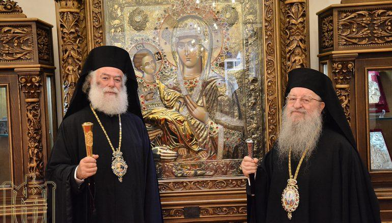Ο Πατριάρχης Αλεξανδρείας επισκέφθηκε τον Μητροπολίτη Θεσσαλονίκης (ΦΩΤΟ)