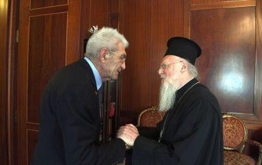 Ο Οικ. Πατριάρχης συμπαρίσταται στον Γ. Μπουτάρη