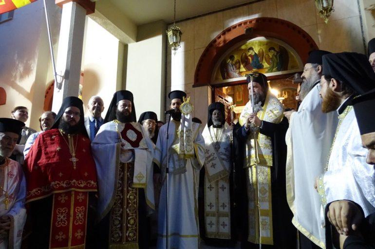 Λιτάνευση Ιεράς Εικόνος της Αγίας Τριάδος στο Ηράκλειο Αττικής (ΦΩΤΟ)