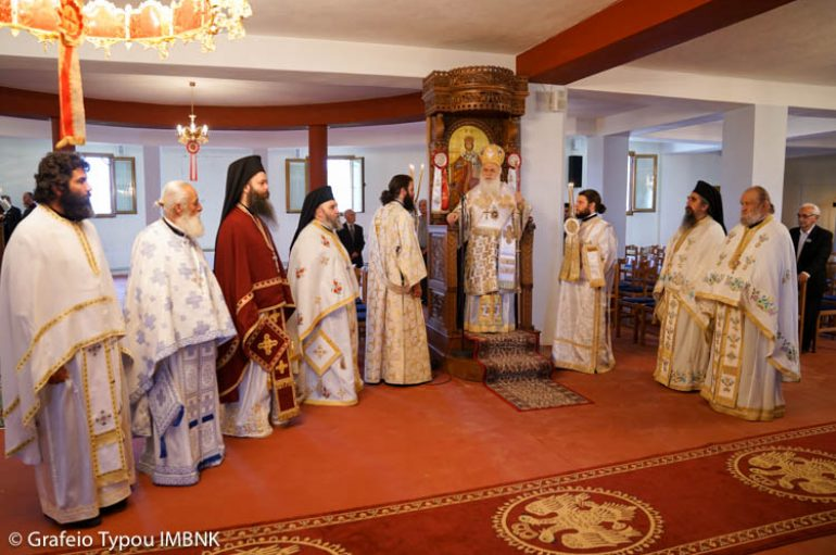 H εορτή της Αγίας Ειρήνης στην Ειρηνούπολη Ναούσης (ΦΩΤΟ)